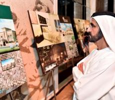 صاحب السمو الشيخ محمد بن راشد يزور مشروع