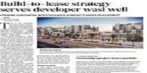 Build-to-lease strategy serves wasl well