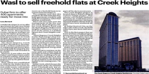 wasl Enters Dubai Freehold Property Sector for First Time