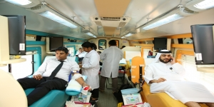 Employees and Customers Lead the Way at wasl's Blood Donor Day