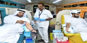 وصل تنظم حملة للتبرع بالدم لدعم عام زايد