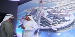 Mohammed bin Rashid launches a new integrated leisure and entertainment island in Dubai