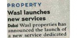 wasl properties launch property solutions for owners associations and private property landlords