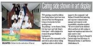 wasl supports Dubai Autism Centre through the Children's Art