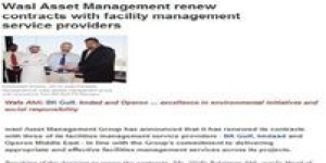 wasl Asset Management Group renews contracts with Facility Management suppliers