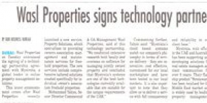 wasl Properties signs technology partnership agreement with Mystrata